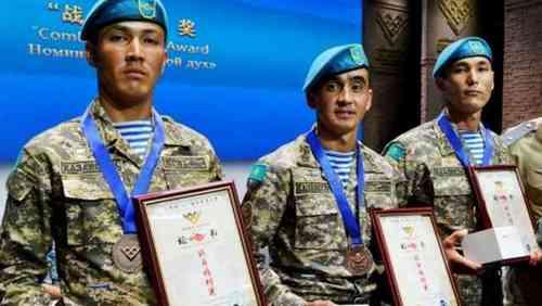 Казахстанские десантники