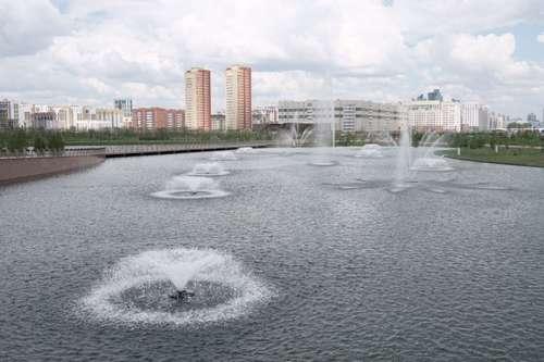 Назарбаеву показали новый Ботанический сад в Астане