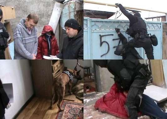 Спецоперация в Алматы: полицейские накрыли наркопритон