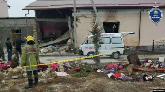 Под Ташкентом в результате взрыва из-за утечки газа погибли два человека