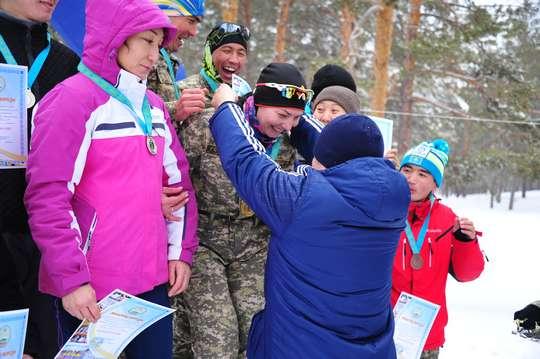 Чемпионат по лыжному спорту прошёл в Региональном командовании «Восток»