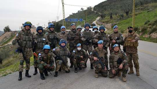 Профессионализм миротворцев Казахстана отметили в Ливане